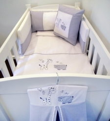 Linen Bale Set for Sale - Babybugs 100 percent Cotton - Custom Baby and Kids Linen and Decor
